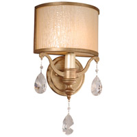 Corbett Lighting Roma 1 Light Wall Sconce in Antique Roman Silver 71-11