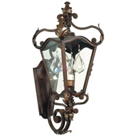 Corbett Lighting St. Tropez 1 Light Outdoor Wall Bracket in Antique Bronze 75-21