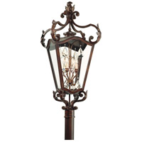 Corbett Lighting St. Tropez 4 Light Outdoor Post Lantern in Antique Bronze 75-83