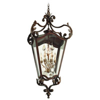 Corbett Lighting St. Tropez 9 Light Outdoor Hanging Lantern in Antique Bronze 75-94