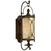 Corbett Lighting St. Moritz 3 Light Outdoor Wall Lantern in Moritz Bronze 76-22
