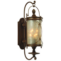 Corbett Lighting St. Moritz 6 Light Outdoor Wall Lantern in Moritz Bronze 76-23
