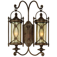 Corbett Lighting St. Moritz 2 Light Outdoor Wall Bracket in Moritz Bronze 76-25