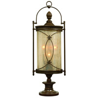 Corbett Lighting St. Moritz 6 Light Outdoor Post Lantern in Moritz Bronze 76-83