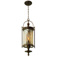 Corbett Lighting St. Moritz 6 Light Outdoor Hanging Lantern in Moritz Bronze 76-93