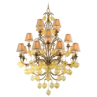 Corbett Lighting Venetian 16 Light Chandelier in Rialto 77-016 photo thumbnail