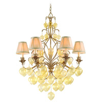 Corbett Lighting Venetian 6 Light Chandelier in Rialto 77-06