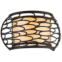 Corbett Lighting Cesto 2 Light Wall Sconce in Napoli Bronze 79-12