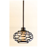 Cesto 1 Light 8 inch Napoli Bronze Mini-Pendant Ceiling Light