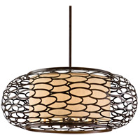 Corbett Lighting 79-410 Cesto 10 Light 44 inch Napoli Bronze Pendant Ceiling Light