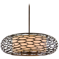 Corbett Lighting Cesto 8 Light Pendant in Napoli Bronze 79-48