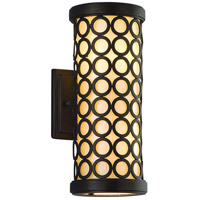 Corbett Lighting Bangle 2 Light Bath in Modern Bronze 83-62