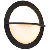 Corbett Lighting Cirque 1 Light Wall Sconce in Brown Suede 84-21