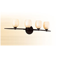 Corbett Lighting Cirque 4 Light Bath in Brown Suede 84-64