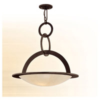 Corbett Lighting Cirque 5 Light Inverted Pendant in Brown Suede 84-74