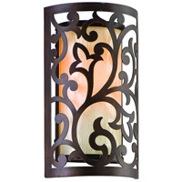 Corbett Lighting Philippe 1 Light Wall Sconce in Tahitian Bronze 85-11