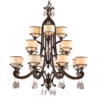 Corbett Lighting Roma 16 Light Chandelier in Classic Bronze 86-016