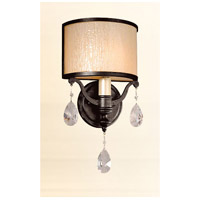 Roma 1 Light 8 inch Classic Bronze Wall Sconce Wall Light