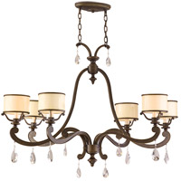 Corbett Lighting 86-56 Roma 6 Light 43 inch Classic Bronze Island Light Ceiling Light  photo thumbnail