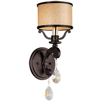 Roma 1 Light 6 inch Classic Bronze Wall Sconce Wall Light