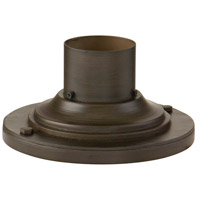 Corbett Lighting Pier Mount Base Post Accessory in Holmby Hills Bronze PBM-67-HHB