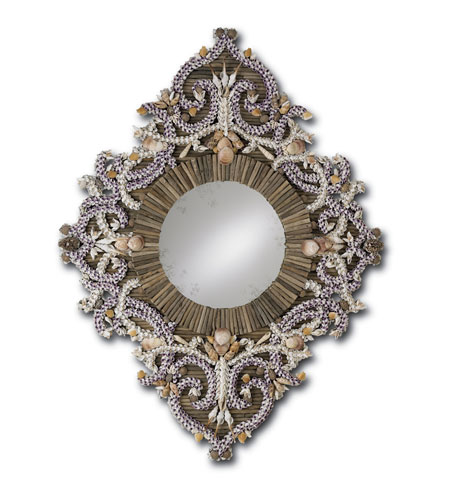 Currey & Company Majorelle Mirror in Natural 1065 photo