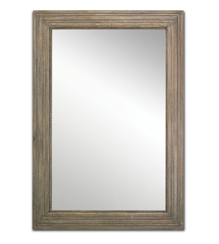 Currey & Company Stanhope Mirror in Weathered Vintage 1070 photo
