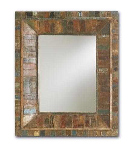 Currey & Company Devotee Mirror in Natural 1078 photo