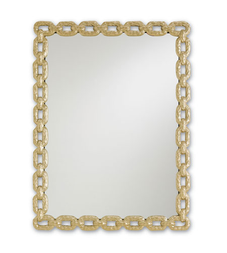Currey & Company Betty June Mirror in Metallic Gold 1082 photo