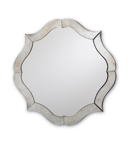 Currey & Company 1301 Monteleone 30 X 30 inch Silver/ Antique Mirror Mirror Home Decor photo