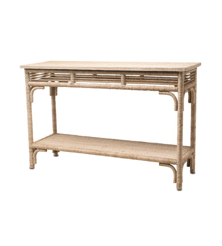 Currey company 3000 0012 olisa 48 x 16 inch natural for 48 inch sofa table