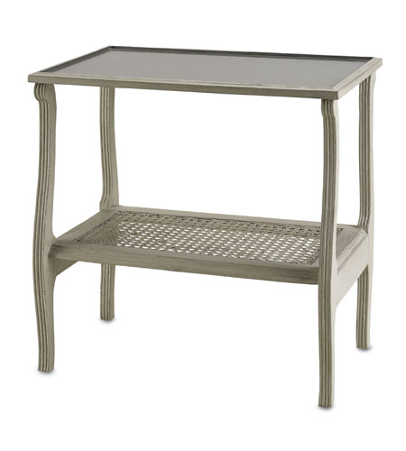 Currey & Company Emilia Occasional Table in Gray Pearl 3007 photo