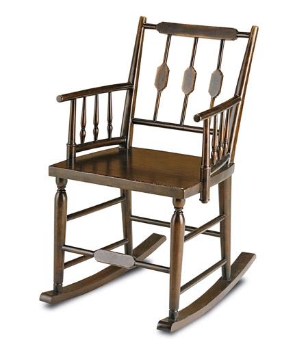 Currey & Company 3233 Chestertown Brandywine Mahogany Rocking Chair ...