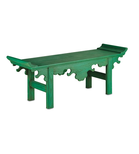 Brilliant Currey Company 3261 Jade Jolly Green Bench Bralicious Painted Fabric Chair Ideas Braliciousco