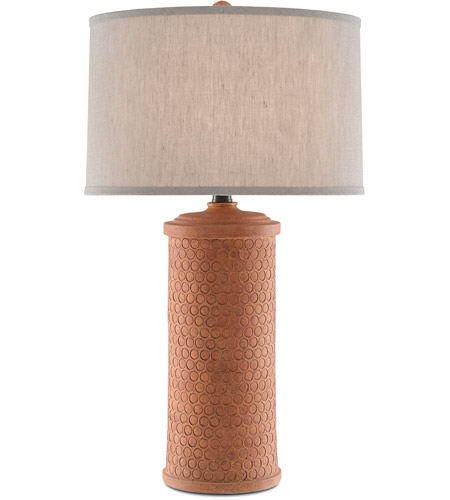 Currey Company 6000 0488 Mesoma 34, African Table Lamps