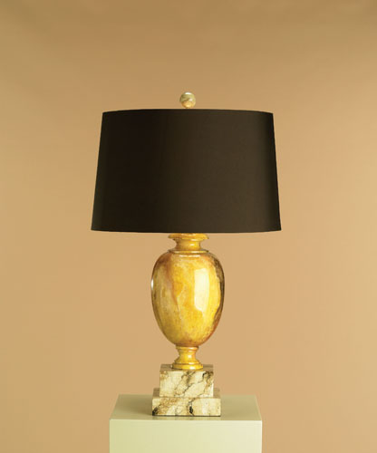 Currey U0026 Company Delphi 1 Light Table Lamp In Faux Marble 6127 Photo