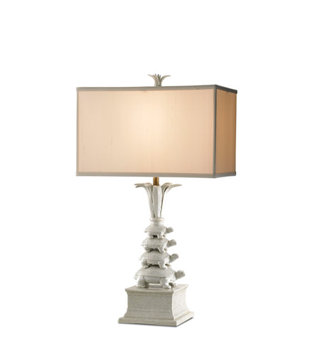 Currey company whimsy 1 light table lamp in antique white brass 6191 currey company 6191 whimsy 30 inch 150 watt antique white brass table lamp portable aloadofball Images