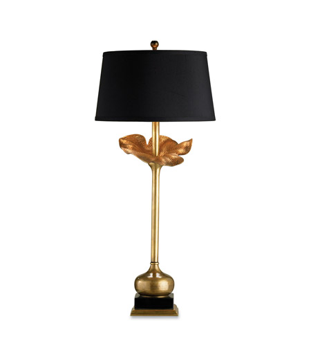 Currey & Company 6240 Metamorphosis 32 inch 150 watt Antique Brass Table Lamp Portable Light photo