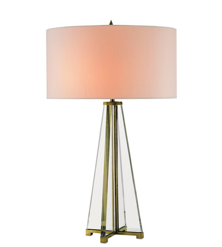 Currey & Company Optic Crystal Table Lamps