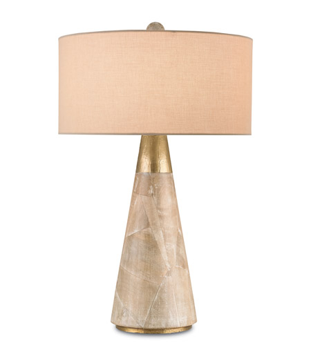 Currey And Company Stratosphere: Currey & Company Babylon 1 Light Table Lamp In Aged And