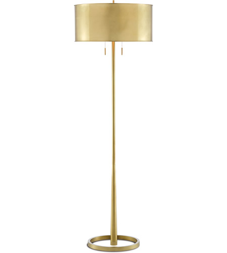 Brushed Brass Floor Lamps