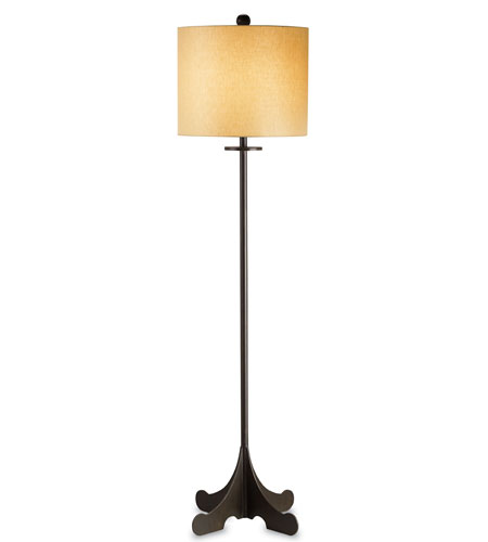 Currey & Company Arrowwood 1 Light Floor Lamp in Bronze Gold 8050 photo