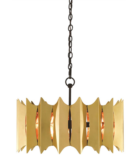 Currey & Company Brass Chandeliers