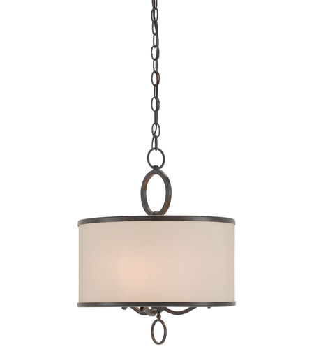 Currey & Company Brownlow 3 Light Pendant in Bronze Gold 9107 photo