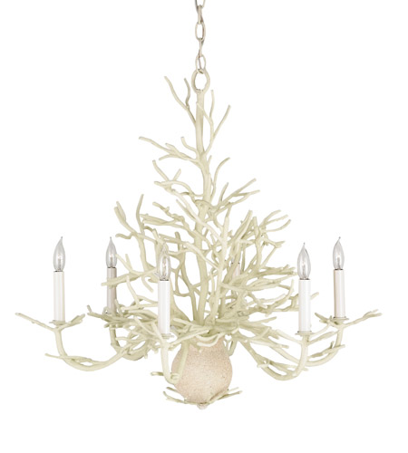 Currey & Company Natural Chandeliers