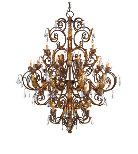 Currey & Company Crystal Lights Chandeliers