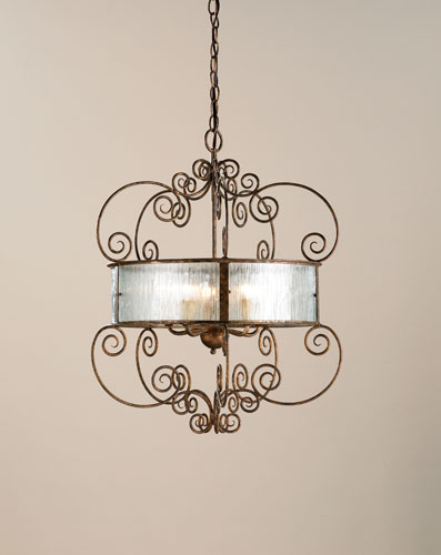 Currey & Company Wizard 5 Light Chandelier in Cupertino 9655 photo