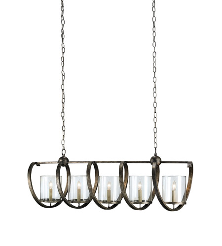 Pyrite Glass Chandeliers