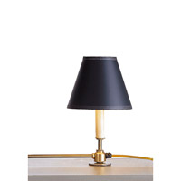 Currey & Company Black Paper Shade in Black 0200