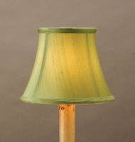 Currey & Company Green Shantung Shade in Green 0392